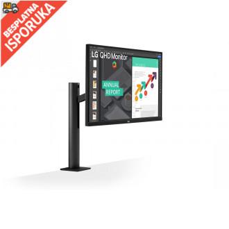 LG 27QN880-B Ergo IPS monitor