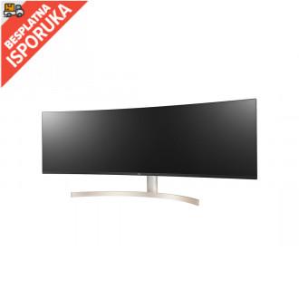 LG 49WL95C-W zakrivljen monitor