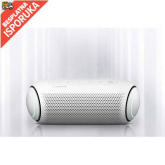 LG XBOOM Go PL5W, Portable Bluetooth Speaker, 20W, White