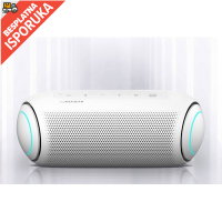 LG XBOOM Go PL7, Portable Bluetooth Speaker, 30W, Gray