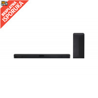 LG SN4 soundbar, 2.1, 300W, WiFi Subwoofer, Bluetooth, Black