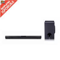 LG SJ2 soundbar, 2.1, 160W, WiFi Subwoofer, Bluetooth, DarkGray